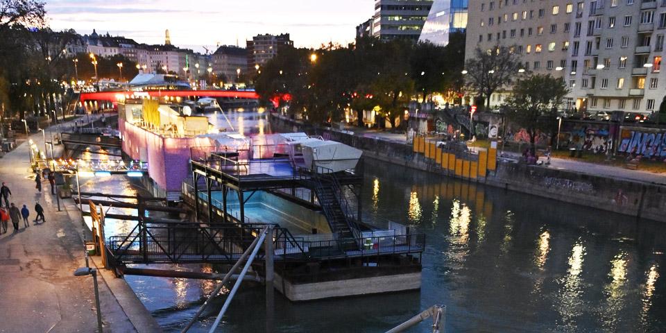 Leiche Donaukanal
