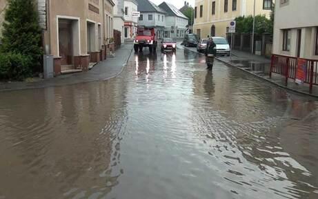 Westliches Niederösterreich von Flut überrascht