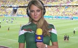 Die heißeste Reporterin der WM