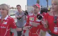 Das sagt Vettel zur Rambo-Attacke