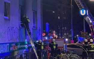 Großeinsatz: Wohnungsbrand auf Rechter Wienzeile