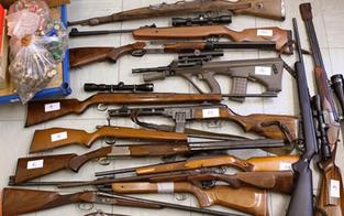 Landwirt hortete illegale Waffen