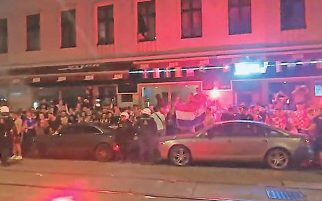 WM: Die Polizei macht Ottakring zur Festung