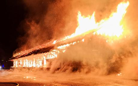 Enns: Polizei ermittelt wegen Brandstiftung