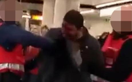 Mann am Westbahnhof mit Bierflasche blutig geschlagen