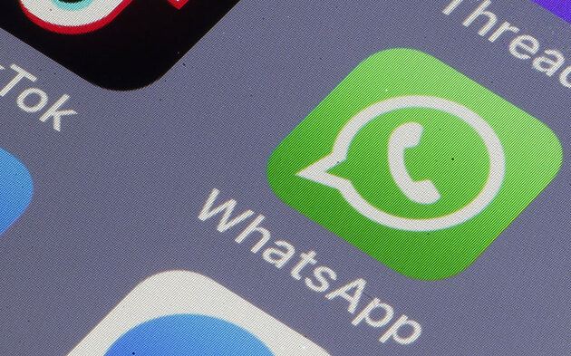 Whatsapp Icon am Smartphone