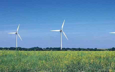 Windkraft deckt fast ganzen Strombedarf