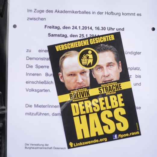 Demo gegen Akademiker-Ball