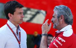 """Wolff könnte Ferrari-Boss """"eine reinhauen"""""""