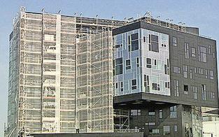 Schaden an der WU-Fassade ist um 500.000 Euro höher