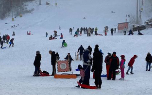 Massen-Ansturm auf Skigebiet am Semmering